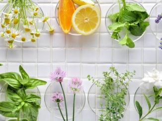 Cosmétiques fruits et légumes