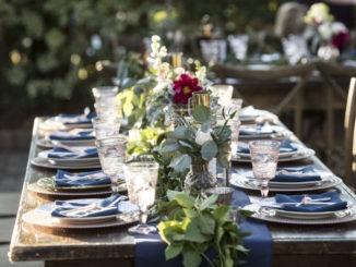 Table estivale