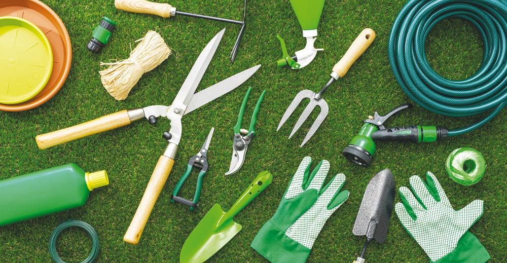Outils jardinages
