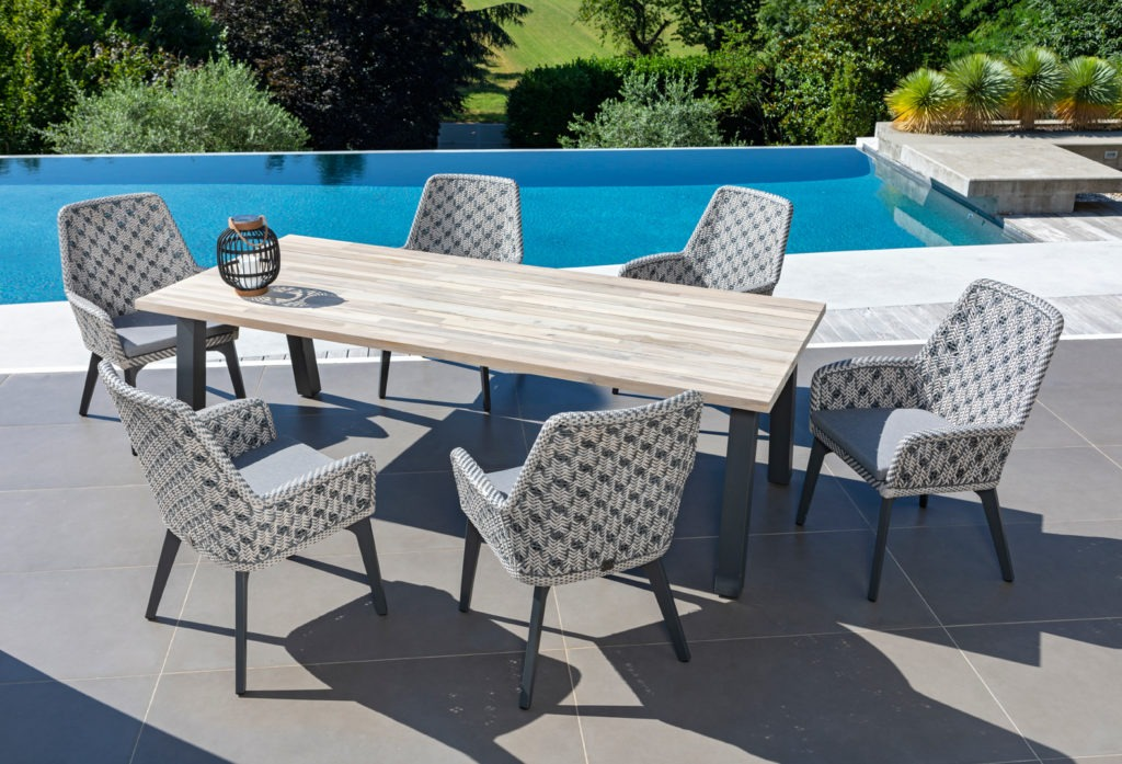 Table jardin HPL