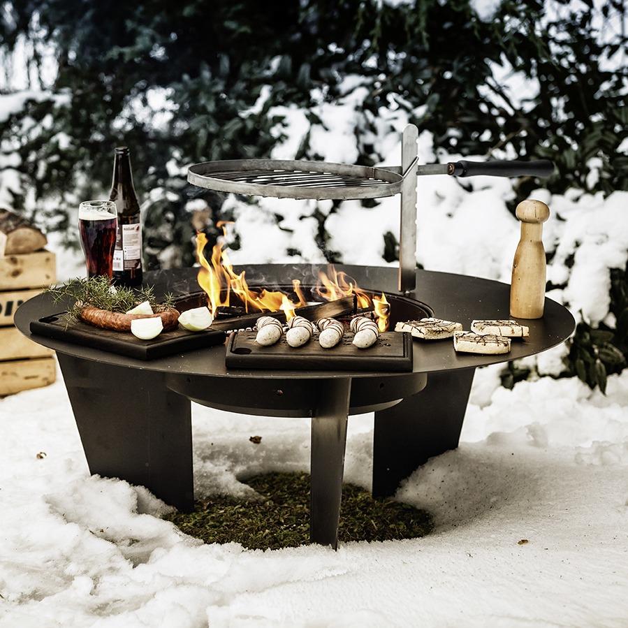 BGS-Brasero barbecue hiver