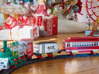 Petit train de Noël