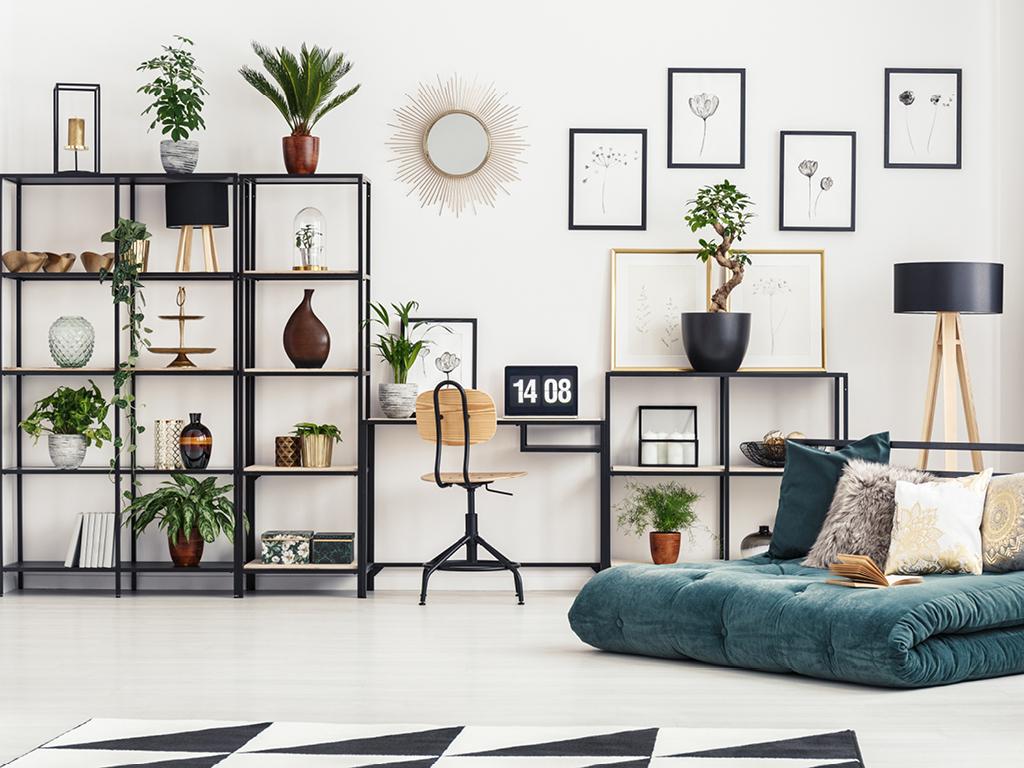 Deco contemporaine atelier botanique