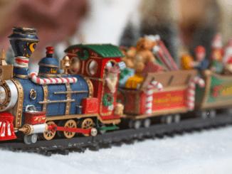 Train electrique Noel