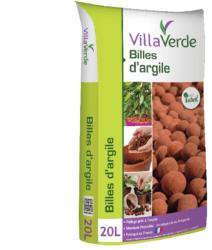 Villaverde Billes d'argile
